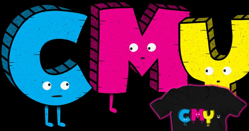 CMY? by BeanePod on Threadless