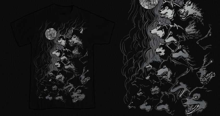 Wolves by RicoMambo on Threadless