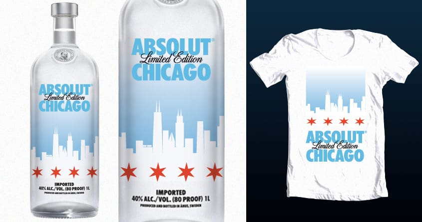 Absolut Chicago by vlad.s on Threadless