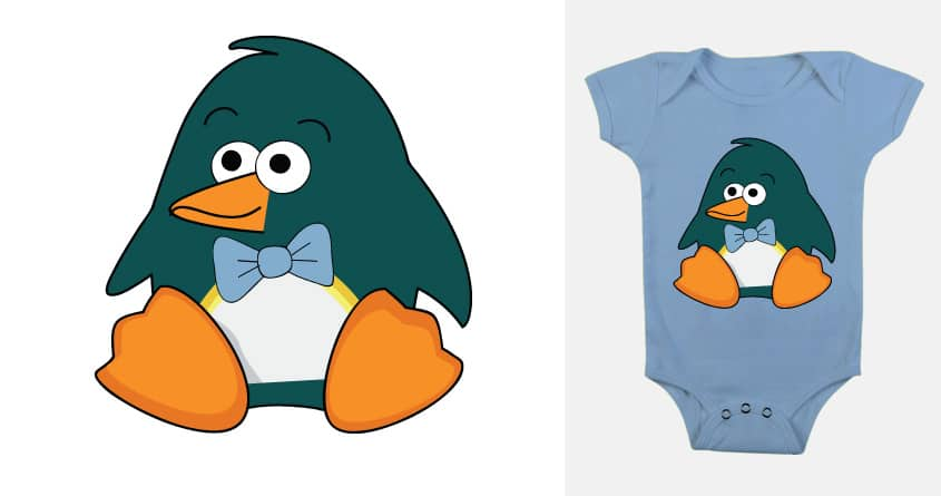 Baby Penguin by SaraGoodman on Threadless