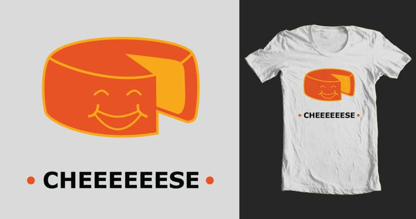 Cheese by justin.crapse on Threadless