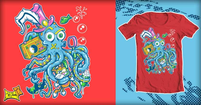 Bubbles Tenticool by jak.gibberish on Threadless
