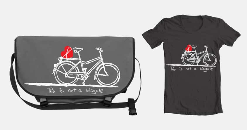 Cycling Life by xmun on Threadless