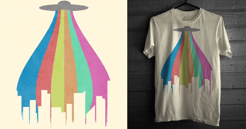 The Melting Beam by TheArtistDude on Threadless