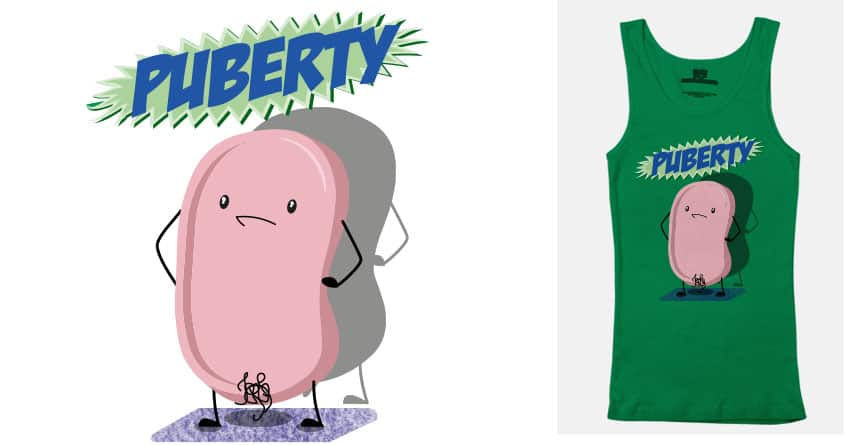 Puberty by val.escobar.3 on Threadless