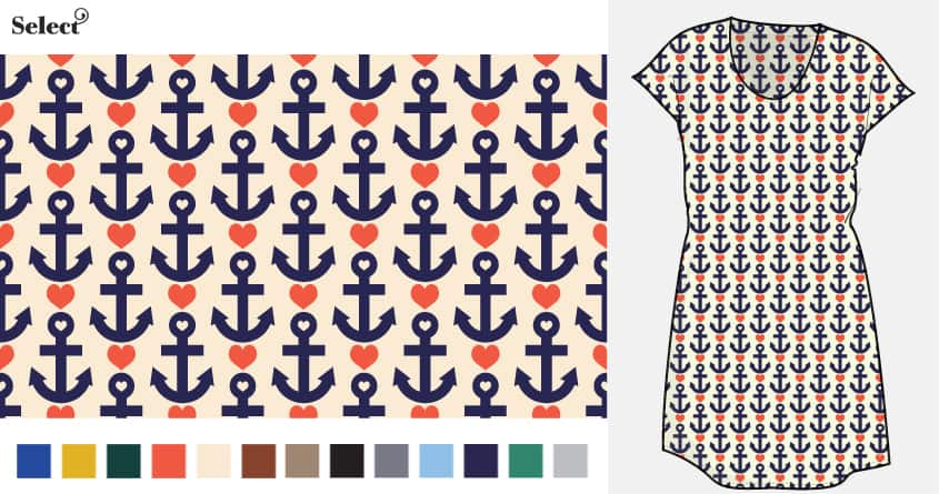 Anchors Away by lunchboxbrain on Threadless