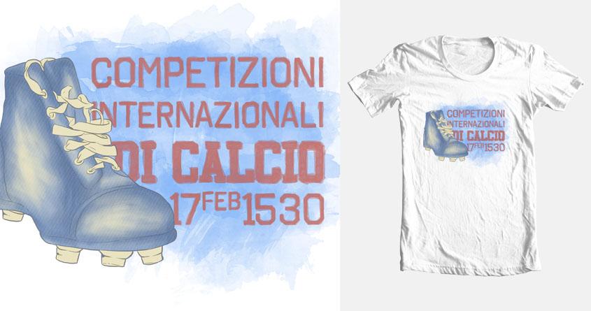 Calcio by LL Cool G on Threadless