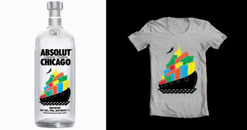 floating by ndough on Threadless