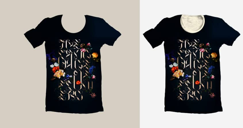 The Language of Flowers by Marie Bois on Threadless