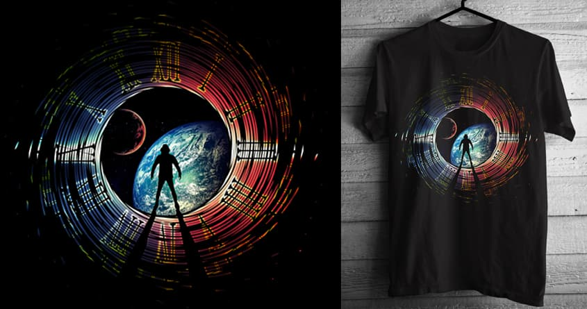 Time Portal by chingmoncheng on Threadless