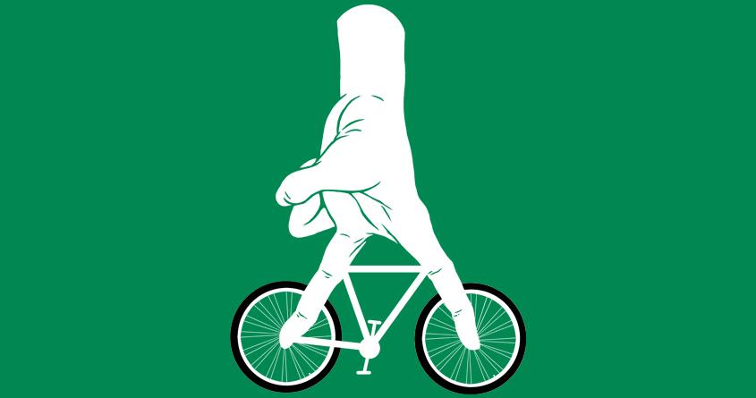 Go up a bicycle by zakiihamdanii on Threadless