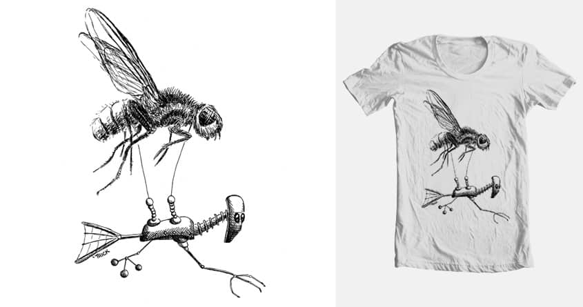 Fly Flier by TrickSlattery on Threadless
