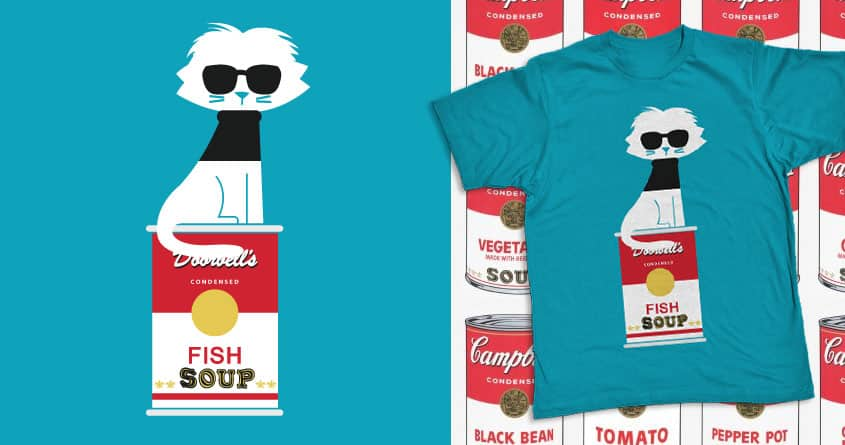 It's soup for dinner by radiomode on Threadless