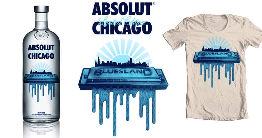 Bluesland by hisartwork on Threadless