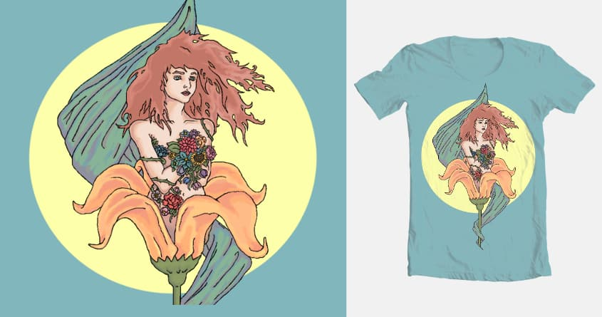 Beauty Blooming by Adilanam on Threadless