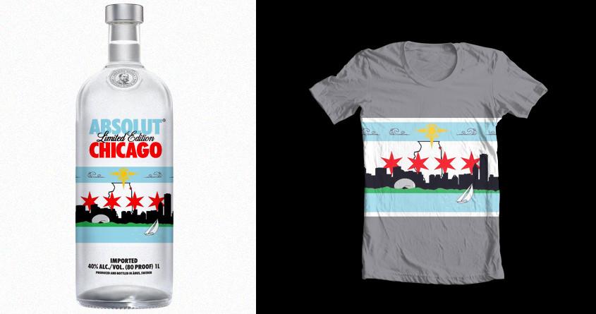 Venture Forth Chicago by archangel23z on Threadless