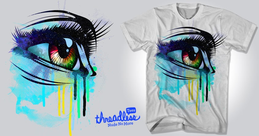 Tears of Colors by chingmoncheng on Threadless