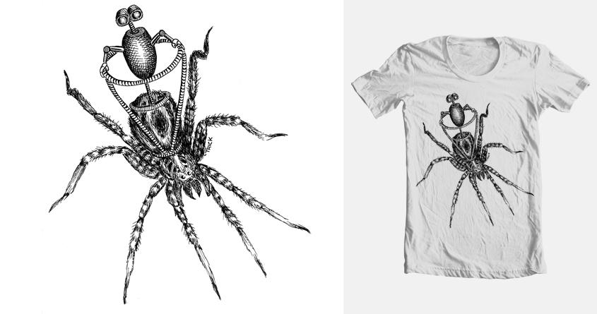 Spider Rider by TrickSlattery on Threadless