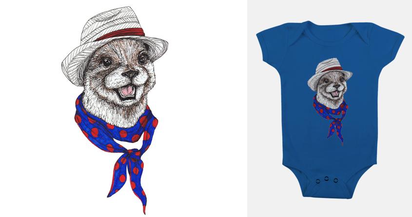 Dandy Otter by kikimcnee on Threadless