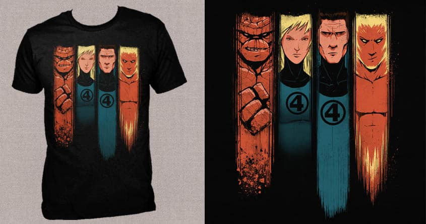 Fantastic Four, Say No More.  by DannE-B on Threadless