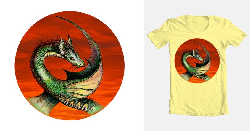 Dragon by TrickSlattery on Threadless