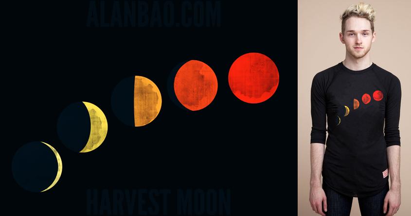 Harvest Moon by AlanBao on Threadless
