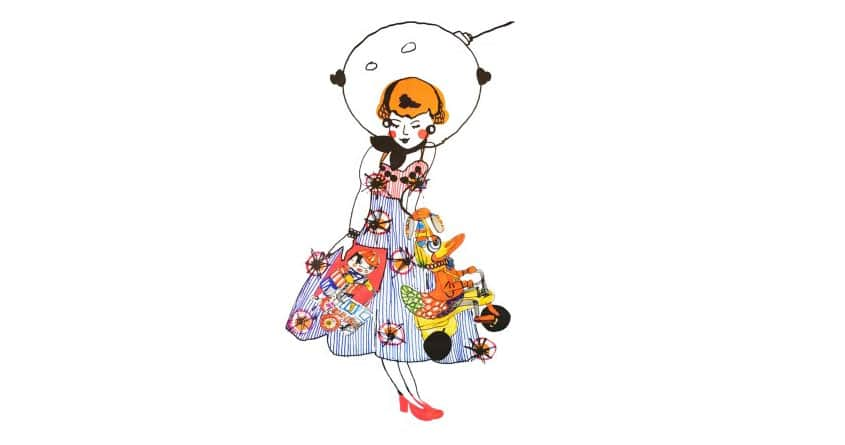 Space Doll by MissVDesigns on Threadless