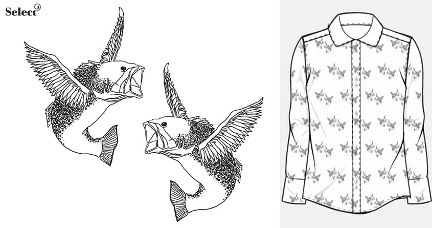 If fish could fly by sockpockets on Threadless