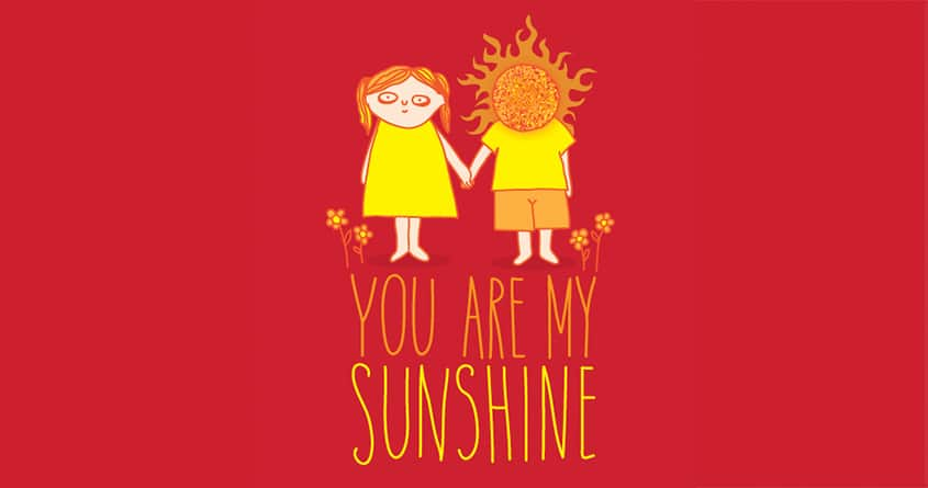 The sunshine of my life by sockpockets on Threadless