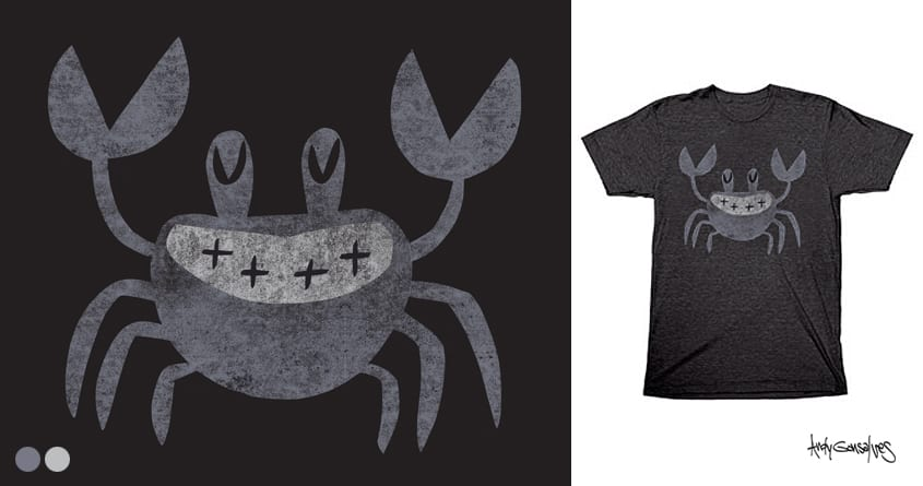 Ghost Crab by andyg on Threadless