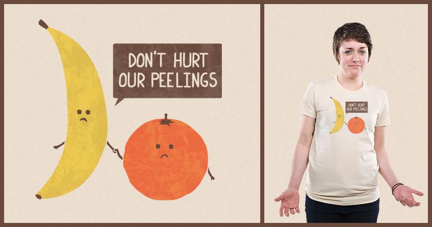 Fruits Have Peelings Too by TeoZ and Shadyjibes on Threadless