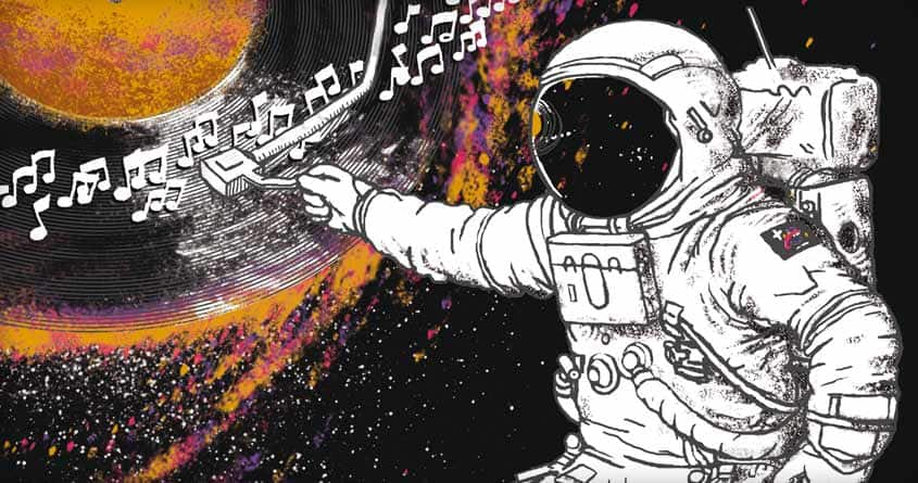 Music from outer space by c-royal on Threadless