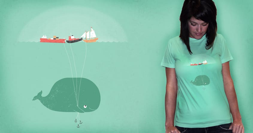 Whale Balloons by McDanger on Threadless
