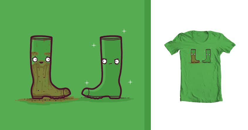 Smellington boot by randyotter3000 on Threadless