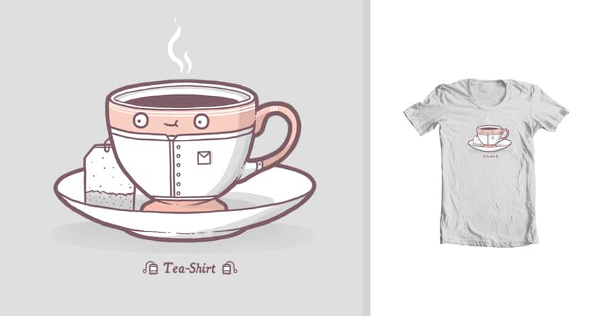 Tea-shirt by randyotter3000 on Threadless