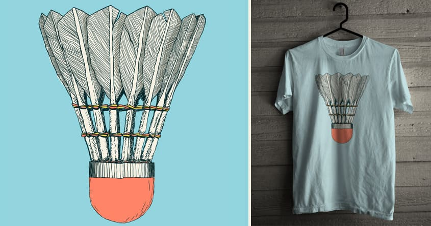 Shuttlecock by arzie13 on Threadless