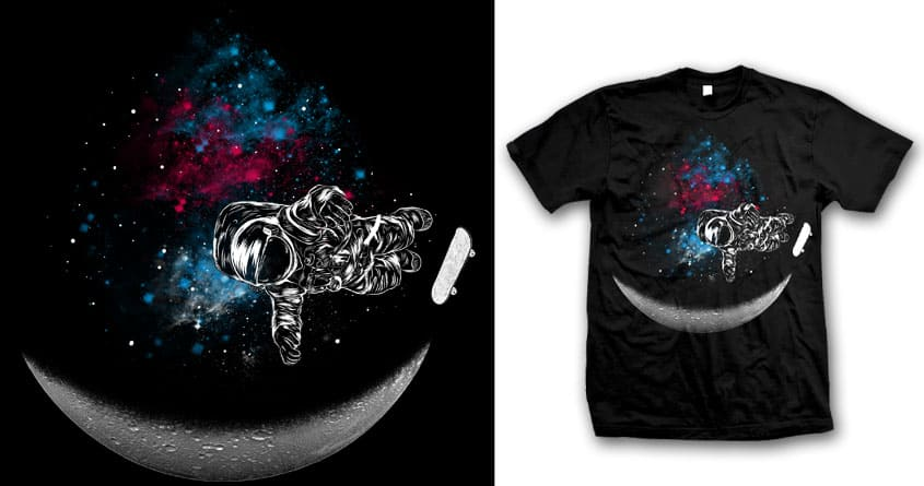 Space Ramp by mainial on Threadless