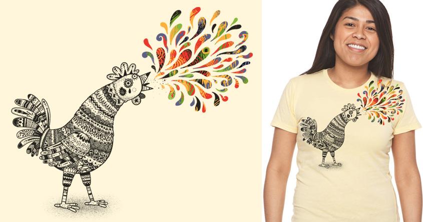 Cock-a-Doodle by temyongsky on Threadless