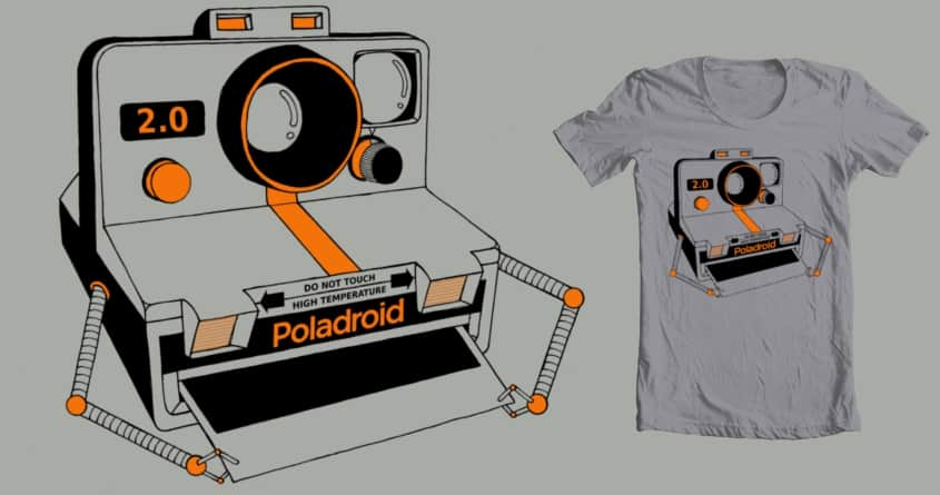 Poladroid 2.0 by beboproject on Threadless