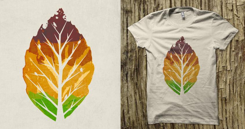 Leaf Cycle by Leo Canham on Threadless