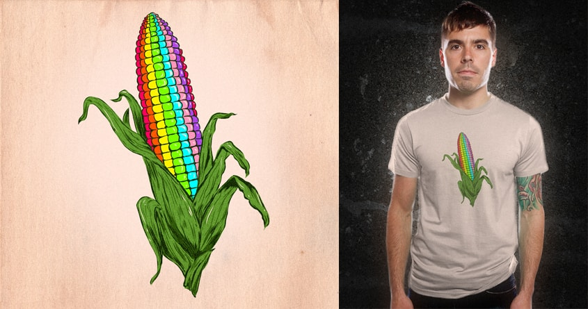 Unique Corn by kooky love on Threadless