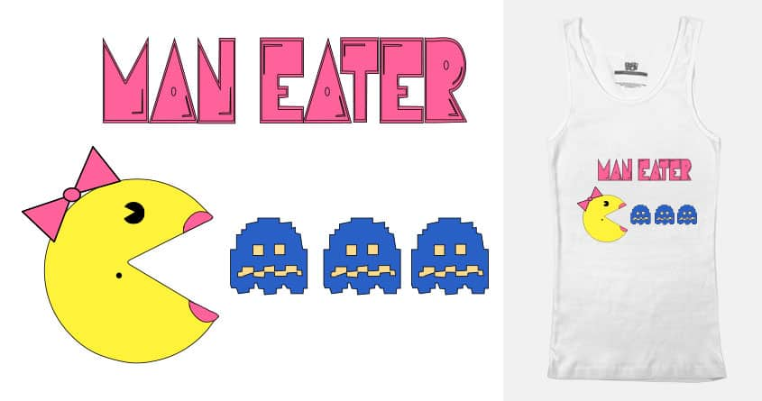 Man Eater by ChiFloStina on Threadless