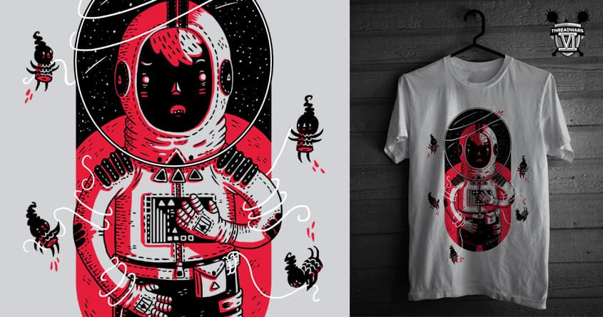Gulliver's Space Travels by TheInfamousBaka on Threadless