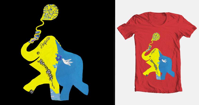 Elephant (Perfecto) by danihart on Threadless