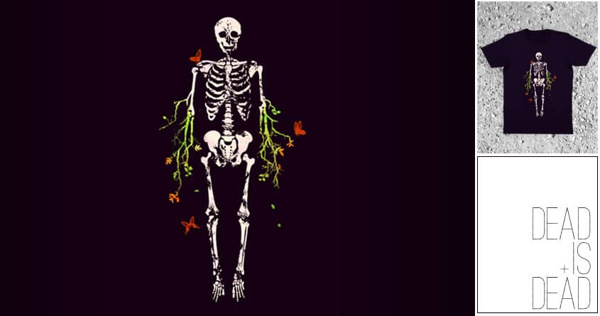 Dead is Dead by radiomode on Threadless