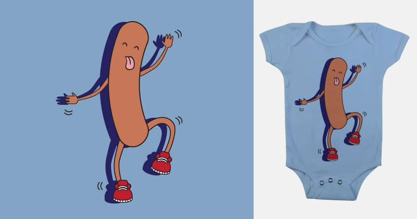 Silly Sausage by BeckyBee3_1 on Threadless