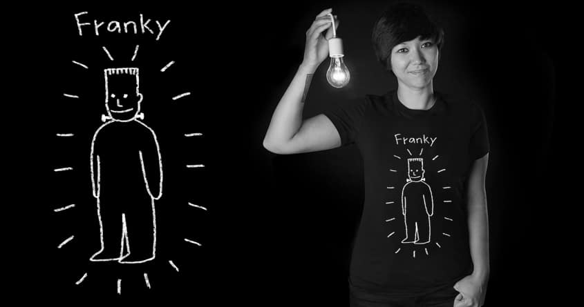 Franky by Doodle by Ninja! on Threadless