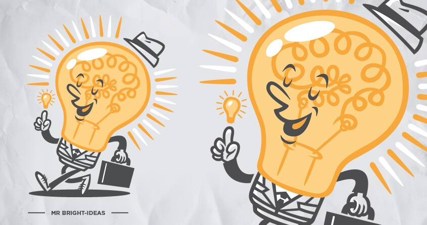 Mr. Bright-Ideas by WanderingBert on Threadless