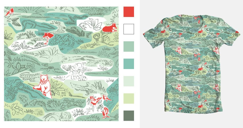 The image of the forest by ChiaraSgatti on Threadless
