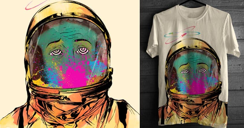 FIRST TRIP TO MARS by alfboc on Threadless